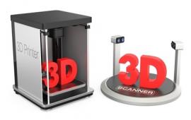 3D printer & 3D scanner